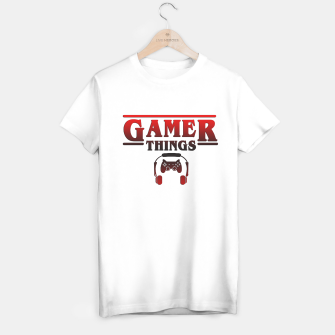Thumbnail image of Gamer Things T-shirt regular, Live Heroes