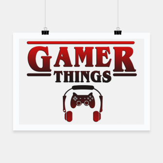 Thumbnail image of Gamer Things Poster, Live Heroes