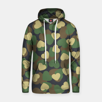 Thumbnail image of Heart Camo WOODLAND Hoodie, Live Heroes