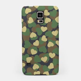 Thumbnail image of Heart Camo WOODLAND Samsung Case, Live Heroes