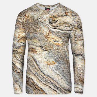 Miniatur Marble Grey Yellow Pattern Unisex sweater, Live Heroes