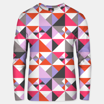 Thumbnail image of Detailed Geometric Pattern - Pink/Purple Unisex sweater, Live Heroes