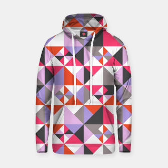 Thumbnail image of Detailed Geometric Pattern - Pink/Purple Hoodie, Live Heroes