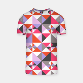 Thumbnail image of Detailed Geometric Pattern - Pink/Purple T-shirt, Live Heroes