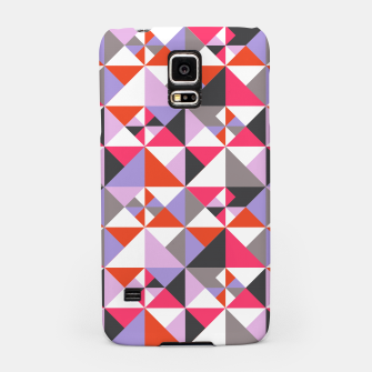 Thumbnail image of Detailed Geometric Pattern - Pink/Purple Samsung Case, Live Heroes