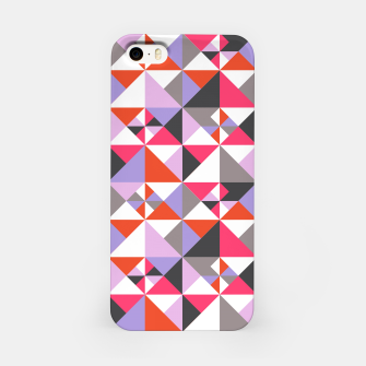 Thumbnail image of Detailed Geometric Pattern - Pink/Purple iPhone Case, Live Heroes