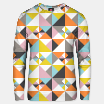 Detailed Geometric Pattern - Multicolored Unisex sweater thumbnail image