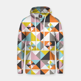 Detailed Geometric Pattern - Multicolored Hoodie thumbnail image