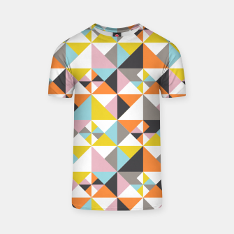 Detailed Geometric Pattern - Multicolored T-shirt thumbnail image