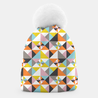 Thumbnail image of Detailed Geometric Pattern - Multicolored Beanie, Live Heroes