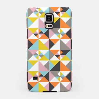 Detailed Geometric Pattern - Multicolored Samsung Case thumbnail image