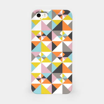 Detailed Geometric Pattern - Multicolored iPhone Case thumbnail image