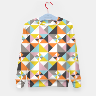 Thumbnail image of Detailed Geometric Pattern - Multicolored Kid's sweater, Live Heroes