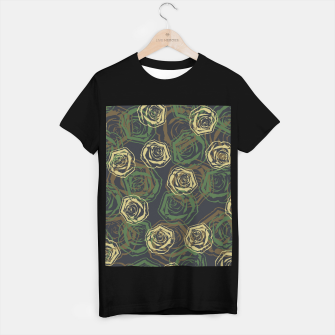 Thumbnail image of Rose Camo WOODLAND T-shirt regular, Live Heroes