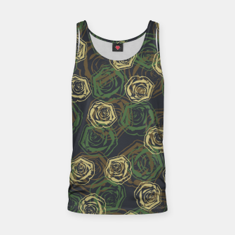 Thumbnail image of Rose Camo WOODLAND Tank Top, Live Heroes