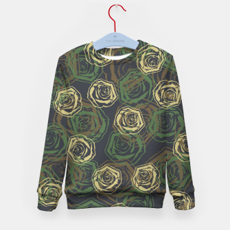 Thumbnail image of Rose Camo WOODLAND Kid's sweater, Live Heroes