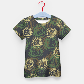 Thumbnail image of Rose Camo WOODLAND Kid's t-shirt, Live Heroes