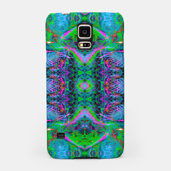 Miniatur Techno Electric V (Ultraviolet) (fluorescent, blacklight, uv reactive, ultraviolet) Samsung Case, Live Heroes
