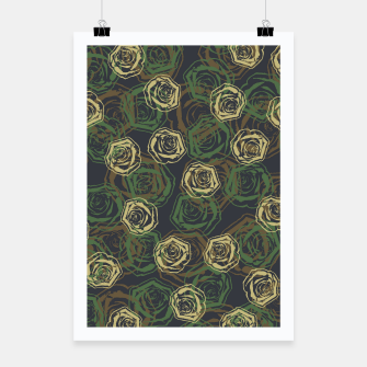 Thumbnail image of Rose Camo WOODLAND Poster, Live Heroes