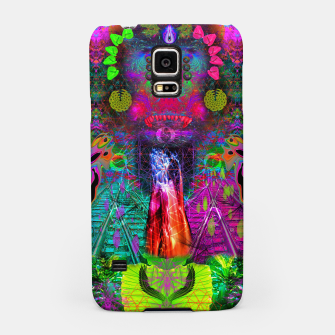 Thumbnail image of Rangda's Way (fluorescent, blacklight, uv reactive, ultraviolet) Samsung Case, Live Heroes