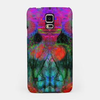 Thumbnail image of The Swirling Spirit of Creativity (fluorescent, blacklight, uv reactive, ultraviolet) Samsung Case, Live Heroes