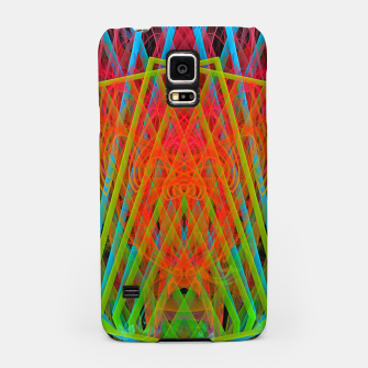 Thumbnail image of A Psychedelic Hand of Cards (fluorescent, blacklight, uv reactive, ultraviolet) Samsung Case, Live Heroes