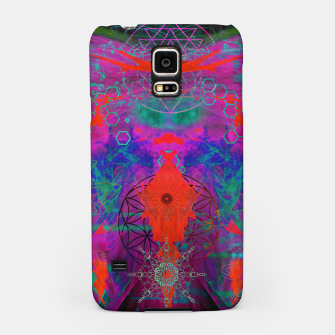 Thumbnail image of Sacred Geometry Witch Balls (fluorescent, blacklight, uv reactive, ultraviolet) Samsung Case, Live Heroes