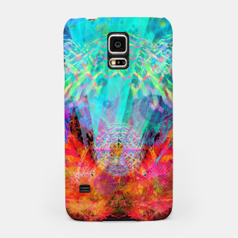 Miniaturka Jellyfish Spirits (ocean, abstract) Samsung Case, Live Heroes