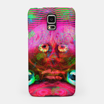 Thumbnail image of Overactive Brain (fluorescent, mental) Samsung Case, Live Heroes