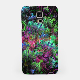 Miniatur Alien Dragonfly Orchid Colony (abstract) Samsung Case, Live Heroes
