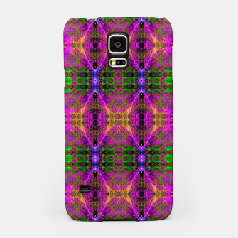 Thumbnail image of Electric Skull Pattern II (fluorescent, ultraviolet, uv reactive, blacklight) Samsung Case, Live Heroes
