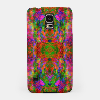 Thumbnail image of Floral Madness II (abstract, psychedelic) Samsung Case, Live Heroes