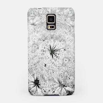 Thumbnail image of Snowball (winter, abstract, black and white) Samsung Case, Live Heroes