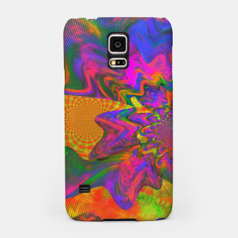 Thumbnail image of Psychedelic Juicy Bloom II (abstract, melting, swirl) Samsung Case, Live Heroes