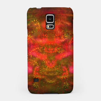 Thumbnail image of Luminous Fireplace (abstract, autumn, fall, warm colors) Samsung Case, Live Heroes