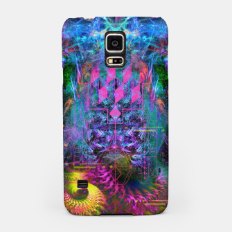 Miniatur Bass Buzz (psychedelic, psyart, visionary) Samsung Case, Live Heroes