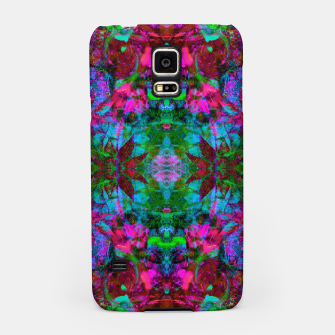Thumbnail image of Nausea 1969 II (abstract, psychedelic, fluorescent, blacklight)  Samsung Case, Live Heroes