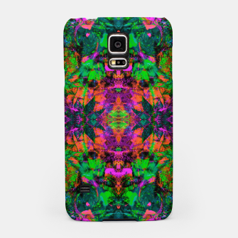 Thumbnail image of Nausea 1969 II (Ultraviolet) (abstract, psychedelic, neon, fluorescent, blacklight) Samsung Case, Live Heroes