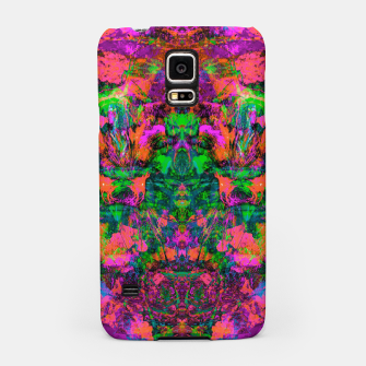 Thumbnail image of Nausea 1969 (Ultraviolet) (abstract, psychedelic, fluorescent, neon, blacklight) ) Samsung Case, Live Heroes