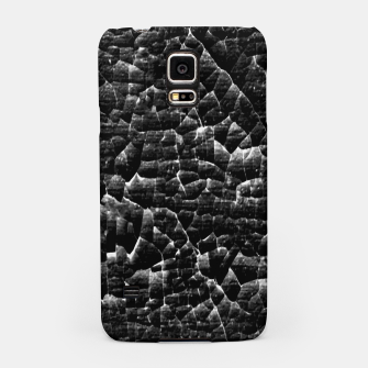 Thumbnail image of Black and White Grunge Cracked Abstract Print  Samsung Case, Live Heroes