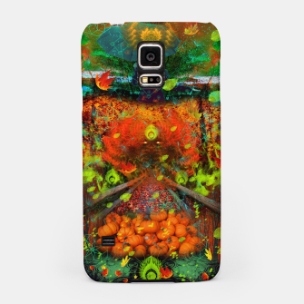 Thumbnail image of Magical Autumn Rain Samsung Case, Live Heroes