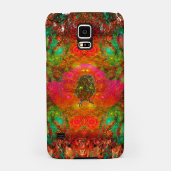Thumbnail image of Sweet Baby Owl Spirits (autumn, psychedelic, baby animals)) Samsung Case, Live Heroes