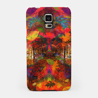 Miniatur Transmogrification of A Witch (autumn, fall, halloween, psychedelic) Samsung Case, Live Heroes