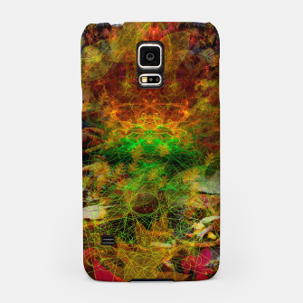 Thumbnail image of Scatterings (autumn, fall, leaves, abstract) Samsung Case, Live Heroes