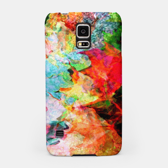 Thumbnail image of Watery Leaves (autumn, fall, abstract) Samsung Case, Live Heroes