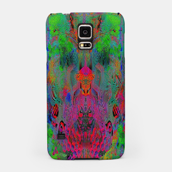 Thumbnail image of Garish Hidden Clown (psychedelic, op art, abstract) Samsung Case, Live Heroes