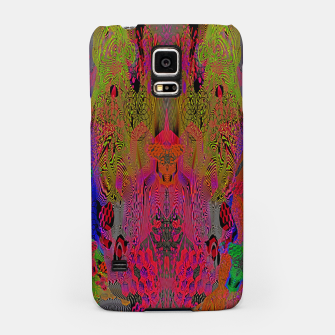 Imagen en miniatura de Sugar Skull and Girly Corks (Ultraviolet) (psychedelic, abstract, fluorescent) Samsung Case, Live Heroes