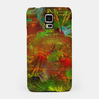 Miniature de image de Swirling Stew (abstract, psychedelic, visionary) Samsung Case, Live Heroes