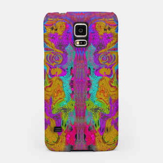 Thumbnail image of Twisted Bug Face (Dark) (psychedelic, abstract, liquid) Samsung Case, Live Heroes