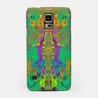 Thumbnail image of Twisted Bug Face (Light) (psychedelic, abstract, trippy) Samsung Case, Live Heroes
